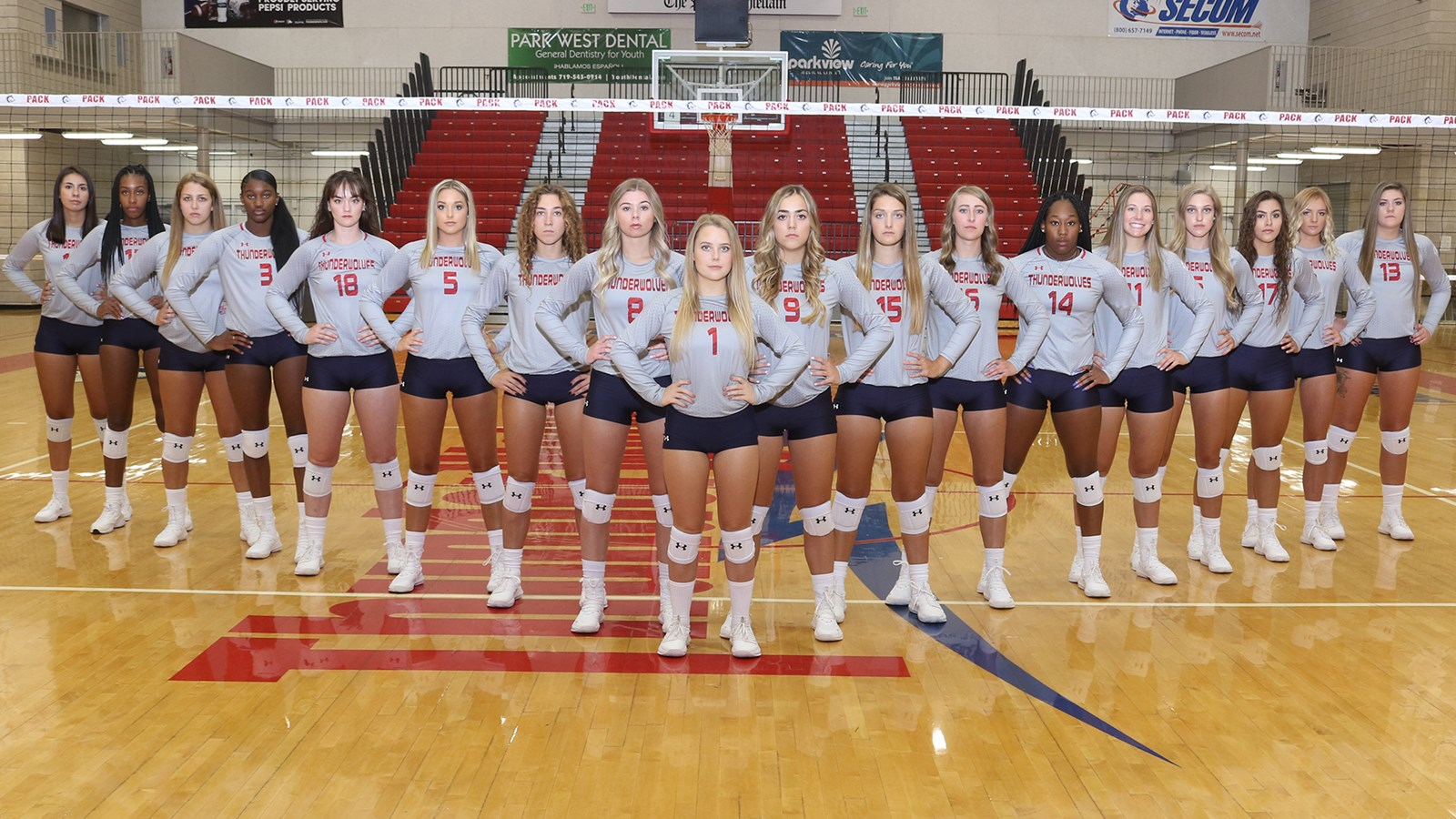 2019 Women S Volleyball Roster Colorado State University Pueblo